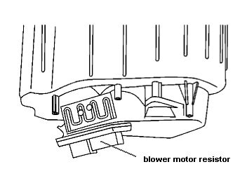 2004 chevy silverado blower motor resistor recall i a 2004 chevy silverado p u problem is the fan switch runs a c heat etc has 5 speeds