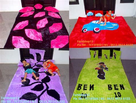 Karpet Bulu Jogja harga karpet rafsur dan printing karakter frozen keropi
