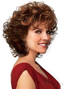 55 with permed hair 100 human hair a medium short curly light wig 12 inches