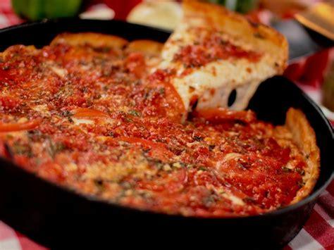 best chicago pizza best pizza restaurants in chicago food network