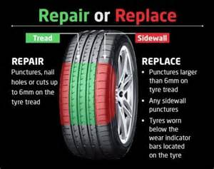 Truck Tire Repair Guidelines Can My Puncture Be Fixed Gf Tyre Solutions