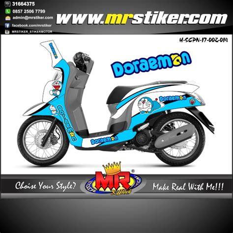 Keranjang Scoopy scoopy new 2017 doraemon stiker motor striping motor