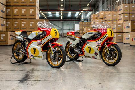 Suzuki Gb Bikes Suzuki Celebrates Sheene S World Titles At Oliver S Mount