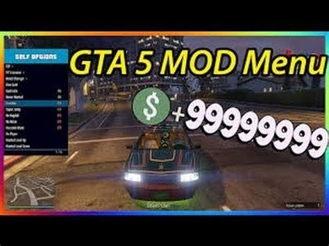 installer un mod menu aout 2018 + mod menu gta 5 online