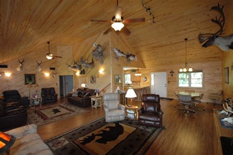trophy room okc trophy room home rustic family room oklahoma city by wfm total construction llc