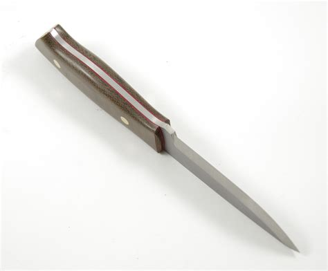 enzo knives enzo trapper 95 o1 knife green canvas micarta casstrom uk