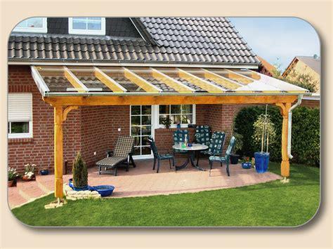 Pavillon Für Die Terrasse by Terrassen 252 Berdachung Balkon Carport
