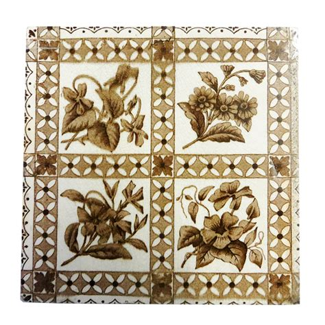 antique fireplace tile buy antique original brown fireplace tiles
