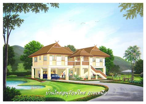 thai style house designs traditional thai style house plans house design plans