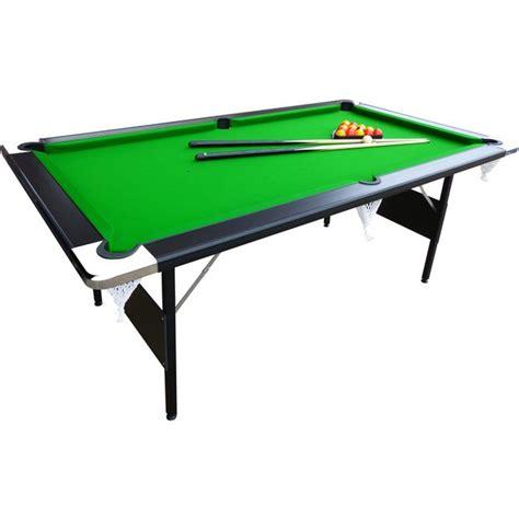 buy mightymast hustler 7ft foldup pool table at argos co