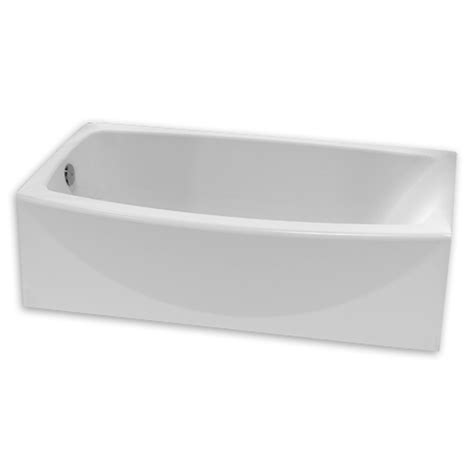 60 inch bathtub ovation curved 60 inch tub with curved apron american standard