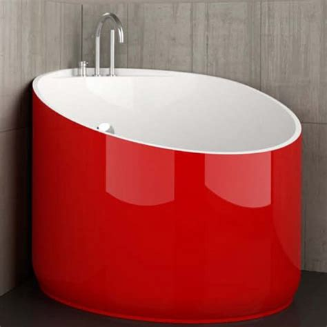 cool bathtub cool mini bathtub of fiberglass for small spaces digsdigs