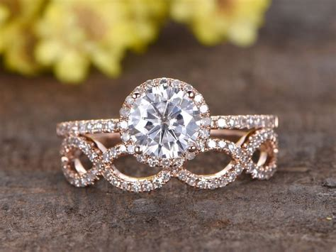 infinity wedding sets best 25 gold ring ideas on gold