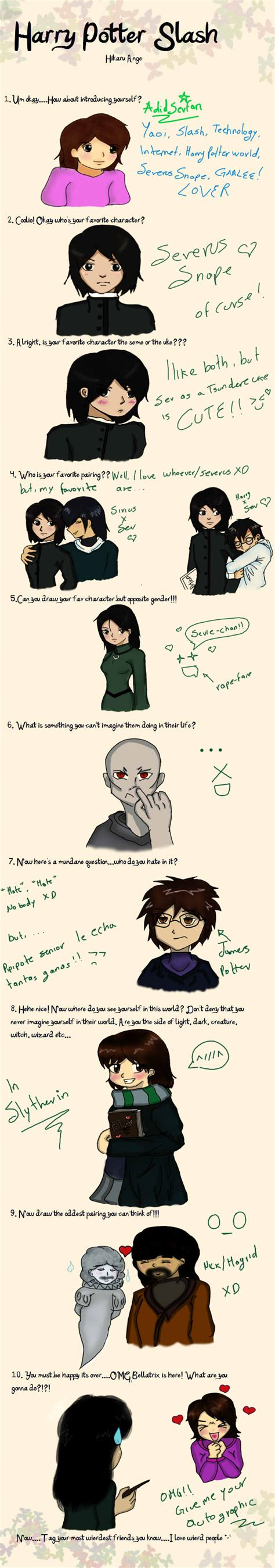 Slash Meme - harry potter slash meme by adidsevfan on deviantart