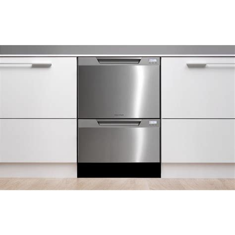 Two Drawer Dishwasher Bosch by Fisher Paykel Dishdrawer Dd24dctx6v2 Semi Integrated