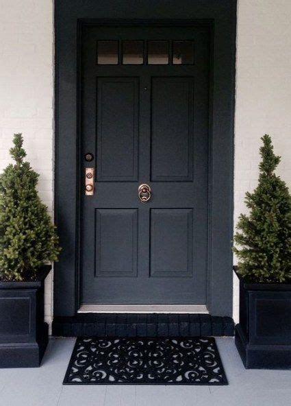 matte black door hardware brass ideas door painted