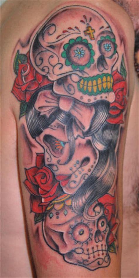 tattoo arm mexican life tattoo mexican skeleton tattoos