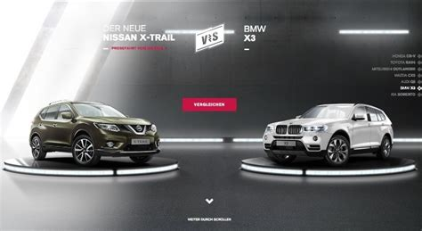 nissan website nissan website pits new x trail against japanese and