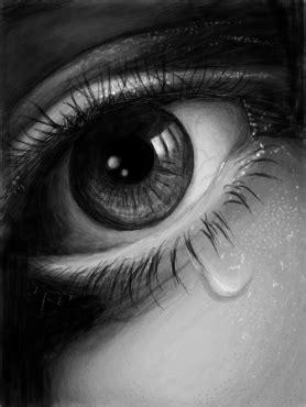 Um dia a lágrima... - Desenho de dancost - Gartic