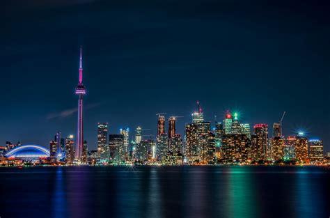 Toronto Lights Canada Ontario Nigh Wallpaper 2048x1353 Lights Toronto