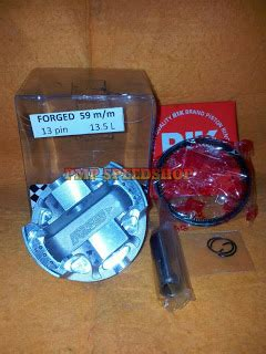 Piston Forged Brt54 5 Mm Pin 13 palex motor parts piston forged lhk 59mm pin 13mm thailand