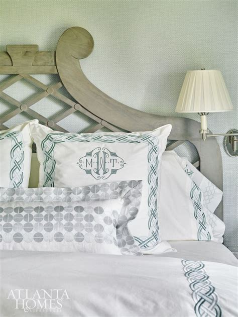 personalized bed rest pillow 17 best ideas about monogram bedding on pinterest