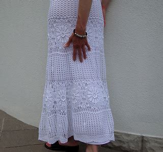 Grace Skirt by Ravelry Grace Skirt With Big Flower Motifs Pattern By