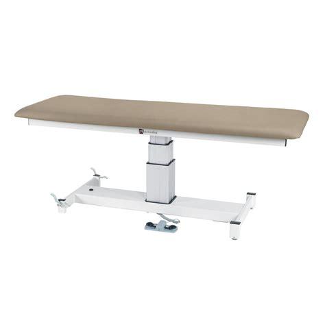 armedica am sp100 single pedestal hi lo treatment table