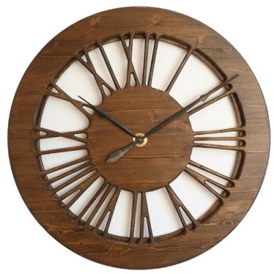vintage skeleton wall clock oversized clocks 40 quot large vintage skeleton wall clock with roman numerals