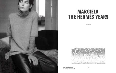 margiela the hermes years il libro e tutte le curiosit 224
