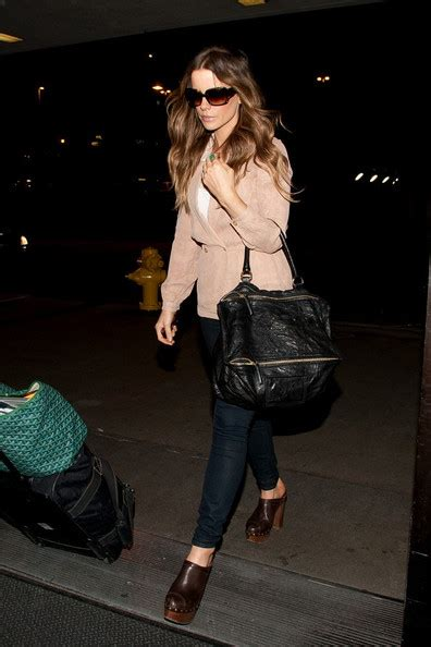 Name That Bag Kate Beckinsale by Kate Beckinsale Leather Tote Kate Beckinsale Looks