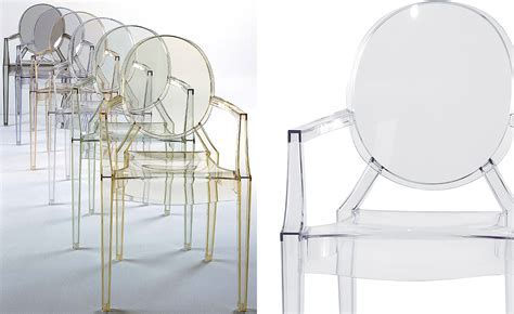 Louis Ghost Stool by Louis Ghost Chair 2 Pack Hivemodern