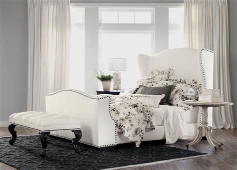 ethan allen bedding kayla bed with tall footboard beds ethan allen dream