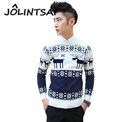 Sweater Tintin Zemba Clothing 1 fashion reindeer sweater o neck sleeve sweater knitted pullover new year