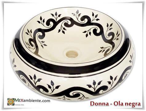 waschbecken retro design vintage waschbecken handbemalt mexambiente mexikanische