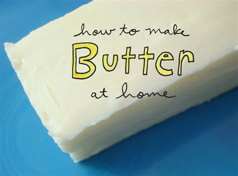 How To Make Butter Paper At Home - how to make butter at home an easy tutorial