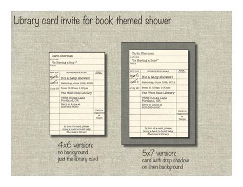 Free Library Card Invitation Template by 1000 Ideas About Library Cards On Vintage