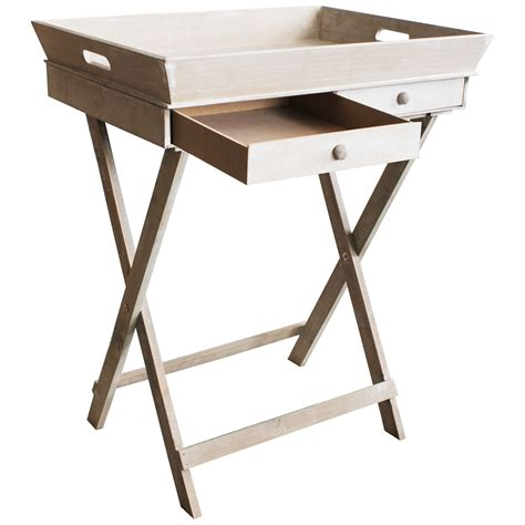 item gestell tablett tisch mit 2 schubladen und gestell serviertisch