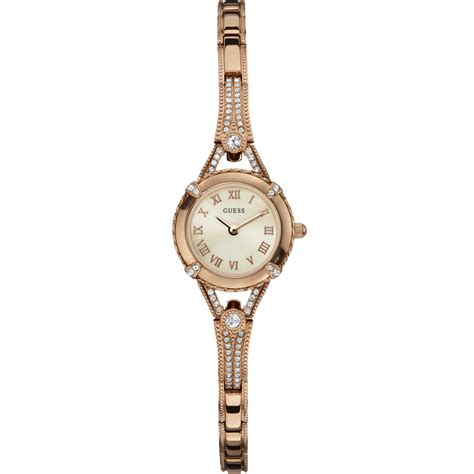 Guess W0135L3 Ladies' Angelic Jewel Rose Gold Watch W0135L3   Guess from British Watch Company UK
