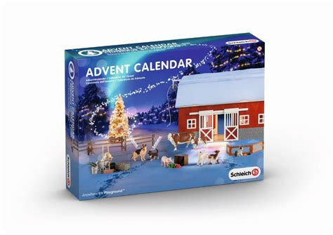 Gamis Set 2 25 Yb192 schleich on the farm advent calendar