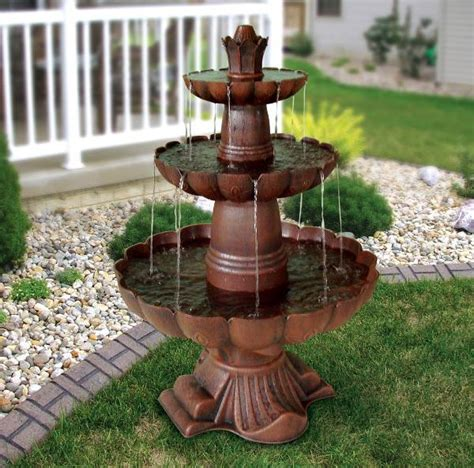 water fountain designs image gallery outdoor water fountain ideas