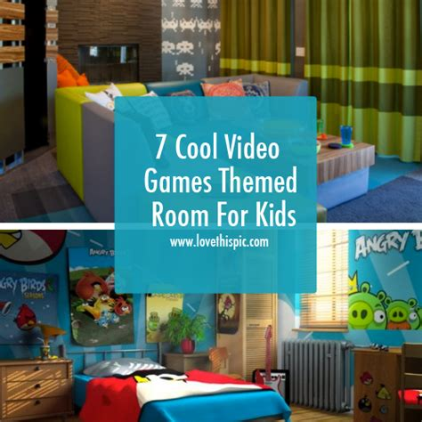 video game themed bedroom 7 cool video games themed room for kids