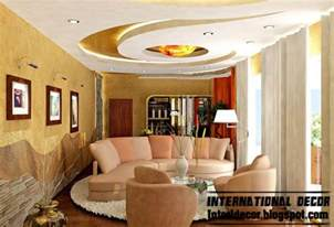 Living Room Ceiling Ideas International Decor