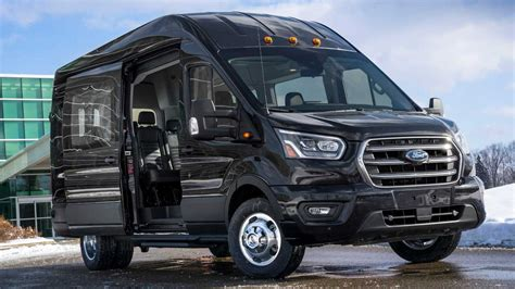 ford transit 2020 2020 ford transit gets awd drivetrain safety and