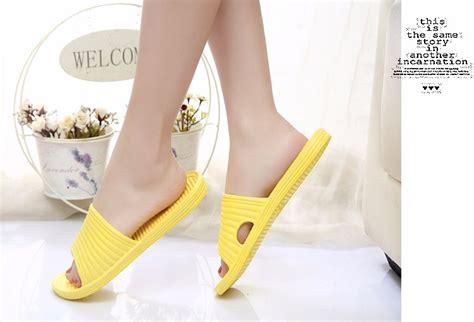 Sandal Wanita Sendal Cewe Sandal Sandal Selop Ringan Murah sandal selop karet indoor size 40 black