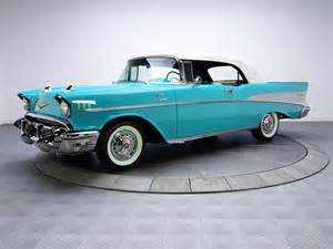 Bel Air Chevrolet 1957 1957 Chevrolet Bel Air Convertible Fuel Injection 2434 1067d