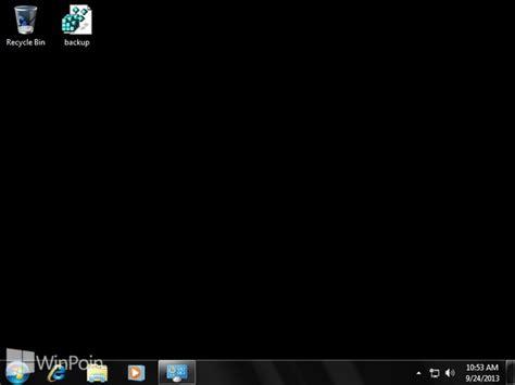 menghilangkan wallpaper hitam windows 7 cara menghilangkan background gambar di windows 7 winpoin