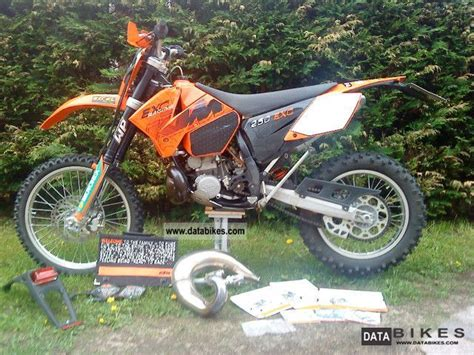 2006 Ktm 250 Exc 2006 Ktm Exc 250 With Accessories And Real 52 5 Bst