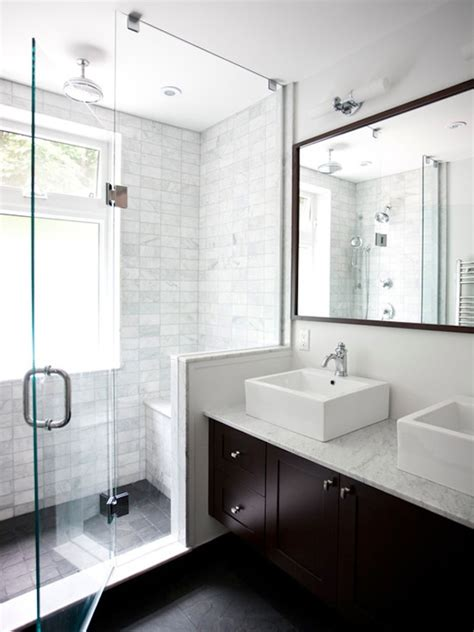 20 amazing pictures of bathroom makeovers with glass tile 20 amazing clear glass showers the contractor chronicles