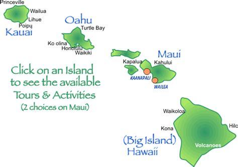 hawaiian island colors hawaiian islands names gallery
